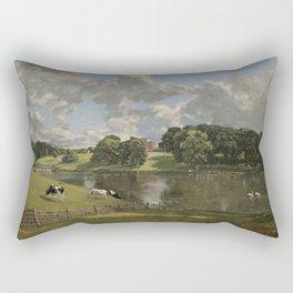 John Constable Wivenhoe Park, Essex 1816 Painting Rectangular Pillow