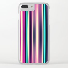 Stripes 115 Clear iPhone Case