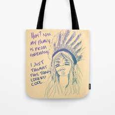 Attention Whore - Color Tote Bag