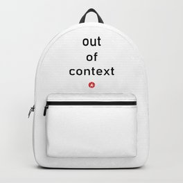 out of context Backpack