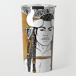 [Caelum Florescens] Taurus Travel Mug