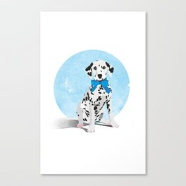 Dalmation Senstation Canvas Print