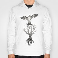 fly Hoodies featuring Fly  by Rafapasta