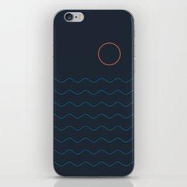 La Mer (Nuit) Seascape iPhone Skin