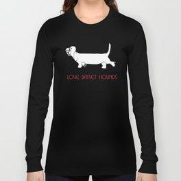 Love basset hounds Long Sleeve T-shirt