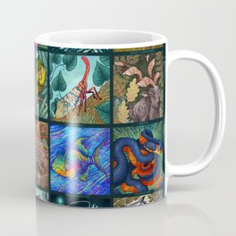 The Unusual Animal Alphabet Coffee Mug