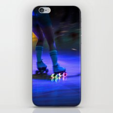 Roller Disco iPhone & iPod Skin