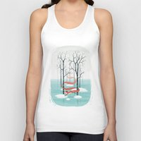 spirit Tank Tops featuring Forest Spirit by Freeminds