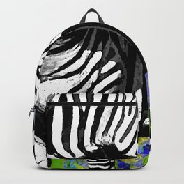 ZEBRA YELLOW ORCHIDS TROPICAL BLOOM Backpack