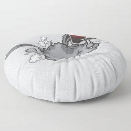 Dust Bunny Hate Clean! Floor Pillow