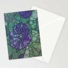 Percolated Purple Potato Flower Stationery Cards