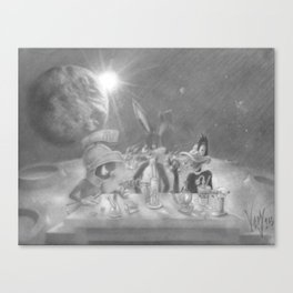 The Second Giveaway Drawing (200 subscribers) Canvas Print