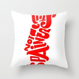 This is not Spain Throw Pillow