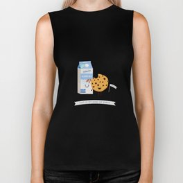 Milk and Cookie Biker Tank
