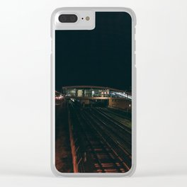Night shift Clear iPhone Case