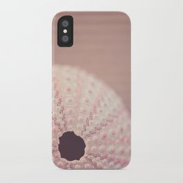 pink urchin iPhone Case
