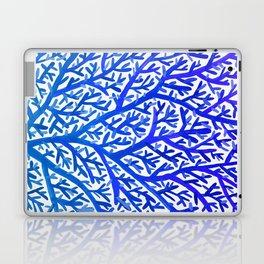 Fan Coral – Blue Ombré Laptop & iPad Skin