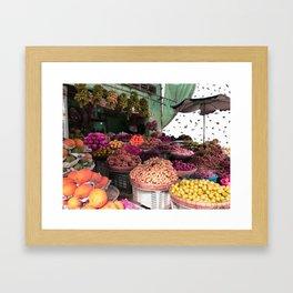 Phu Quoc Market Framed Art Print