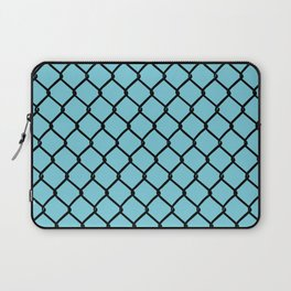 Chain Link Blue Laptop Sleeve