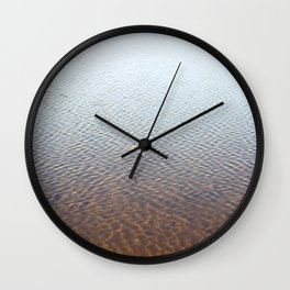 Silent water Wall Clock
