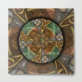 Celic Apeatue Mandala Metal Print