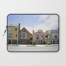 San Francisco beautiful houses Laptop Sleeve