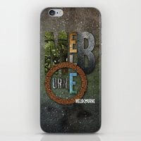melbourne iPhone & iPod Skins featuring Melbourne by Virbia