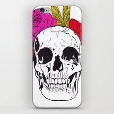 Skull I iPhone & iPod Skin