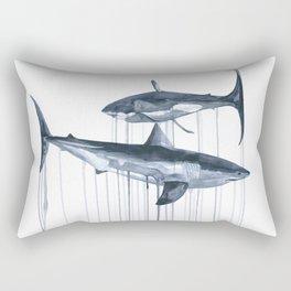 Whites Rectangular Pillow