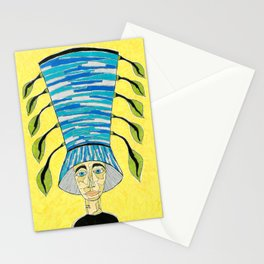 1920's English Cloche Stationery Cards
