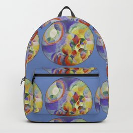 "Robert Delaunay ""Simultaneous contrasts sun and moon"" Backpack"