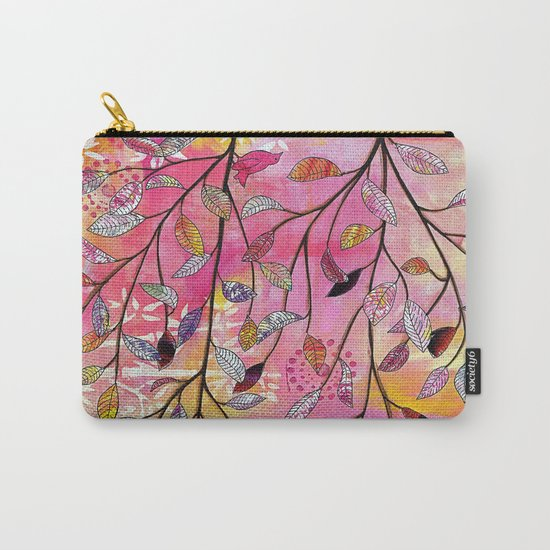 branch triptych No. 2 Carry-All Pouch