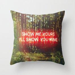 Show Me Throw Pillow