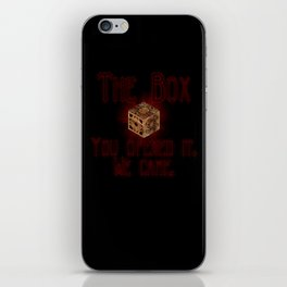 Hellraiser The Box You Opened It iPhone Skin