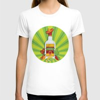tequila T-shirts featuring Tequila Time by Matt Andrews