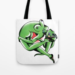 Twilek Flipgirl Tattoo Flash Tote Bag