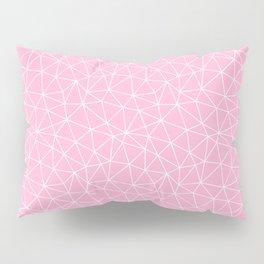 Rose Quartz Triangles Pillow Sham