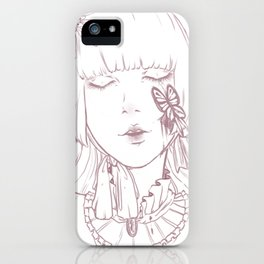 Not a doll iPhone Case