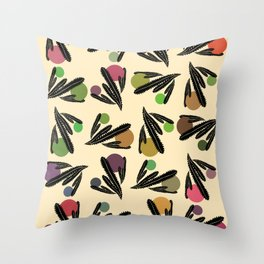 Foglie Sparse Throw Pillow