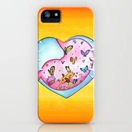 All a Flutter iPhone Case