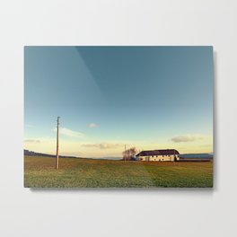 The serenity of countryside life | landscape photography Metal Print
