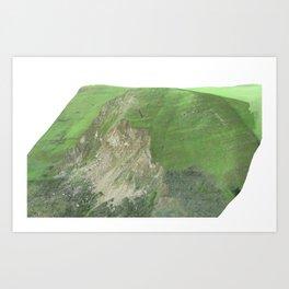 Mission Peak Slide  Art Print