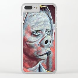 Nurse - Eye Of The Beholder Clear iPhone Case