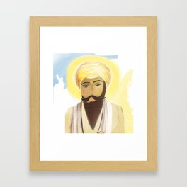 Guru Ram Das  Framed Art Print