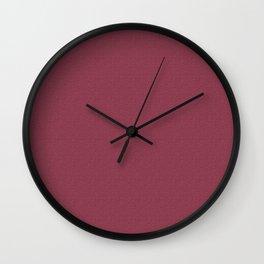 Stiletto Shiraz Stucco Wall Clock