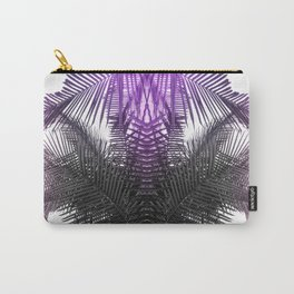 purple gray fern Carry-All Pouch
