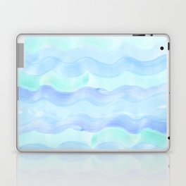 water color waves Laptop & iPad Skin