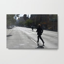 The Running Man Metal Print