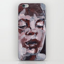 The Thought Inbetween iPhone Skin