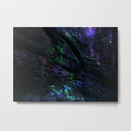 Midnight Enchantment : Forest Wall Metal Print